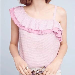Anthropologie HH One Shoulder Top